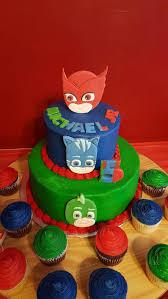 pj mask cake toppers owlette cat boy u0026 gecko party u0027s