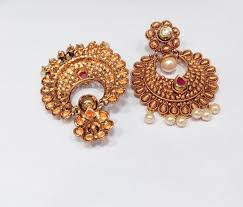 simple earrings design gold plated ethnic designer simple earrings caymancode