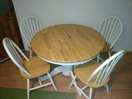 Kentucky Dining Table And Chairs Kentucky Antique Pine Extendable Dining Table And 6 Chairs Full