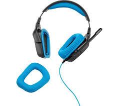black friday deals gaming headsets logitech g430 gaming headset black u0026 blue deals pc world