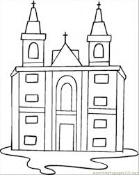 catholic church coloring page free religions coloring pages