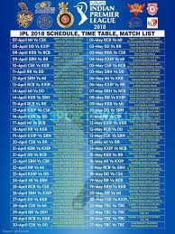 bpl 2017 schedule time table 15 best ipl 2018 images on pinterest a4 check and cricket