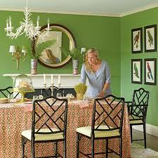 Green Dining Room Our Favorite Green Rooms Coastal Living