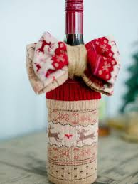 wine christmas gifts 10 ways to gift wine without a bag hgtv s decorating design