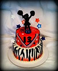 16 best cheerleading cakes images on pinterest cheer cakes