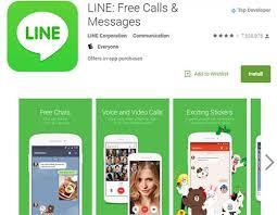 line apk line free calls messages v6 2 1 apk moded for android golden line
