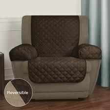 pet chair covers mainstays reversible microfiber fabric pet furniture recliner