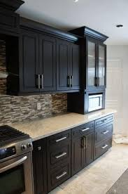 kitchen cabinets with backsplash 25 best espresso kitchen cabinets ideas on espresso