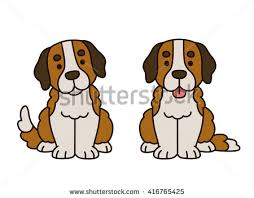 australian shepherd illustration australian shepherd dog on holewatching vector stock vector