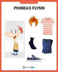 phineas halloween costume dress like phineas flynn costume halloween and cosplay guides