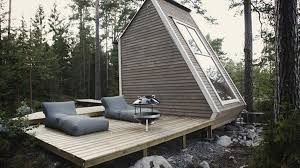 finnish micro house is small enough to build without a permit