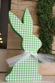 Easter Bunny Decorations Ideas by 20 Diy Easter Decorations To Make Homemade Easter Decorating Ideas