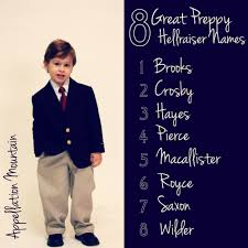 Rugged Boy 8 Great Preppy Hellraiser Names Appellation Mountain