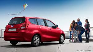mpv car 7 seater datsun go 7 seater mpv launched in india at rs 3 79 lakh