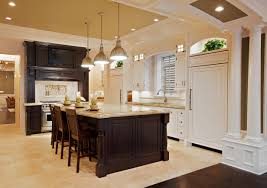 amish home decor simple having hickory kitchen cabinets for