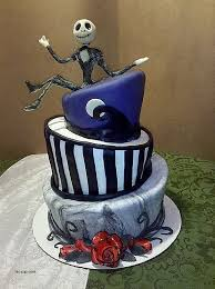 nightmare before christmas cake toppers birthday cakes inspirational nightmare before christmas birthday