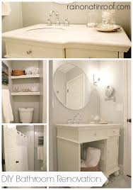 Diy Bathroom Makeover Ideas - bathroom renovation on a budget