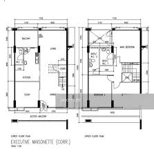 maisonette floor plan 150 mei ling street for sale listing 31675903 executive maisonette