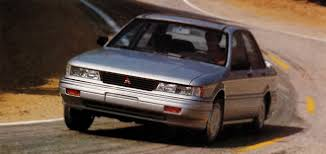 mitsubishi 1990 1990 mitsubishi galant gsx test drive