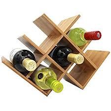 amazon com wine rack foldable 10 bottle wine shelves creative