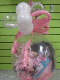 balloons delivered nyc baby shower gift in a balloon balloons at it s my party