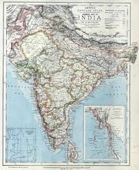 British India Map by The British Empire In Asia