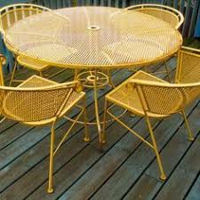 Refinishing Patio Furniture by How To Refinish Wrought Iron Patio Furniture Iron Patio