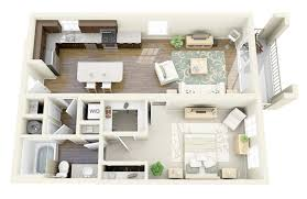 House Plans With Large Bedrooms 50 One U201c1 U201d Bedroom Apartment House Plans Bedroom Apartment