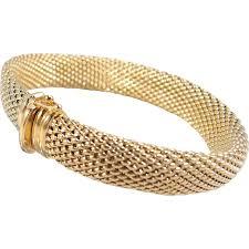 gold fine bracelet images Estate 18k solid gold stamped french bracelet superb heavy unusual jpg