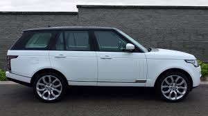 blue range rover vogue used land rover range rover vogue se tdv6 white ao16eyg