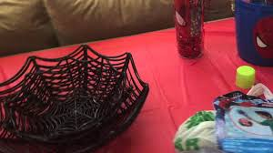 Halloween Birthday Party Decorations Spider Man Birthday Party Halloween Games Decorations Diy Spider
