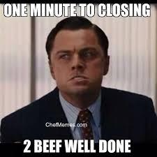 Restaurant Memes - one minute to closing restaurant memes pinterest