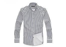 buy high quality mens dress shirt cotton shirt striped plus size