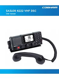 98 131184 g user manual sailor 6222 vhf dsc public pdf radio