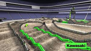 Road Atlanta Track Map by Supercross Live 2014 East Rutherford 4 26 14 Monster Energy