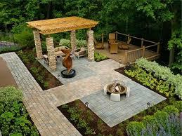 backyard landscape design ideas on a budget fleagorcom