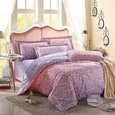 Linen Colored Bedding - 100 cotton tribute silk bedding set 3d bohemian bed linen