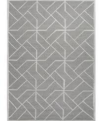 gray geometric rug rugs decoration