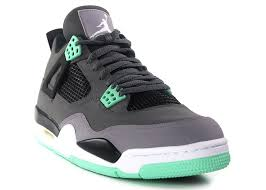 green glow 4 air 4 retro green glow