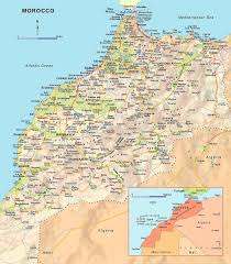 Detailed Map Of Spain by Maps Of Morocco Map Library Maps Of The World