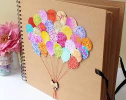 photo albums for kids wedding albums scrapbooks etsy
