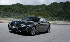 2019 genesis g70 sedan pictures photo gallery car and driver