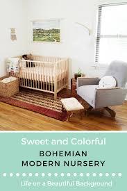 bohemian modern nursery u2014 retro den