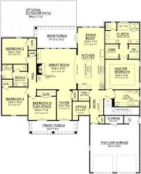 what is open floor plan european style house plan 4 beds 2 baths 2480 sq ft plan 430