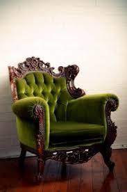 Green Armchairs Green Velvet Chair Foter