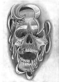 under skin skull tattoo idea best tattoo designs