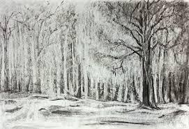 winter forest by trekz on deviantart