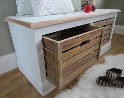 Hallway Storage Bench Hallway Storage Bench With Coat Racks U2013 Home Design Ideas