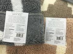 Reversible Bath Rugs Wamsutta Reversible 17 Inch X 24 Inch Bath Rug In Ivory Sand