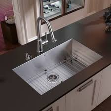 undermount kitchen sink with faucet holes two holes kitchen sinks for less overstock